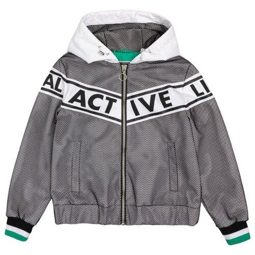 Купить Ветровка Gulliver 12009GJC4003 размер 140, серый, Куртки и пуховики