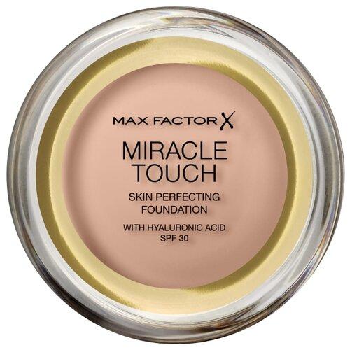 цена на Max Factor Тональный крем Miracle Touch Skin Perfecting Foundation, 11.5 г, оттенок: 55 Blushing Beige