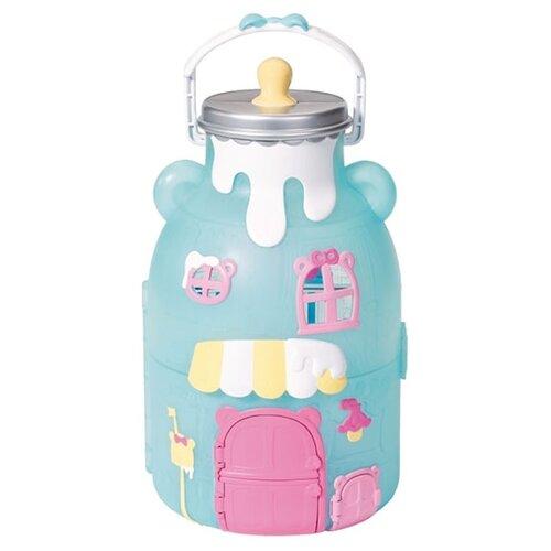 Купить Zapf Creation кукольный домик Baby Born Surprise 904-145, голубой, Кукольные домики