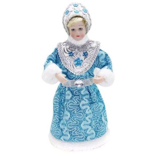 Фигурка Новогодняя Сказка Снегурочка 22.5 см (973032) голубой фигурка снегурочка 5х7 см