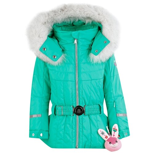 Фото - Куртка Poivre Blanc размер 92, зеленый куртка poivre blanc размер 128 true blue multi
