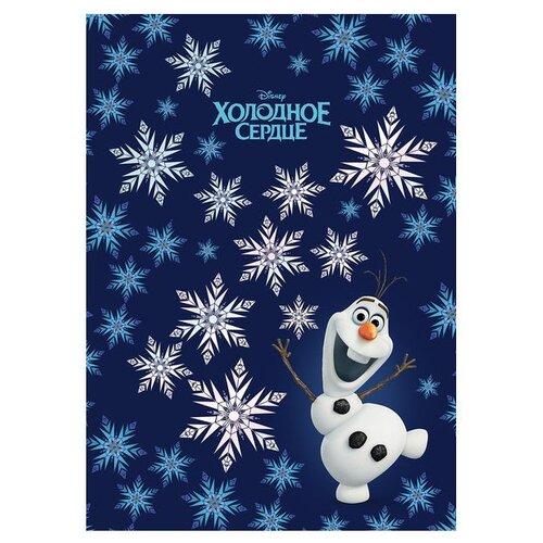 Блокнот Hatber Disney Холодное сердце. Олаф А6, 64 листа (64ББ6фВ5_20320) блокнот мечтай 64 листа