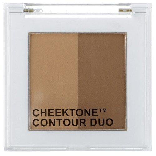 TONY MOLY Палетка для скульптурирования Cheektone Contour Duo 01 modern brown