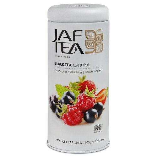 Чай черный Jaf Tea Forest fruit, 100 г