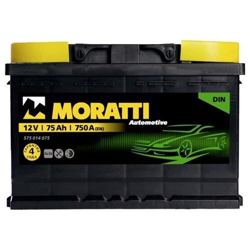 Автомобильный аккумулятор Moratti 575 014 075