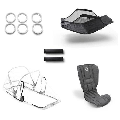 Купить Bugaboo Комплект Bee 5 Style set grey melange, Аксессуары для колясок и автокресел