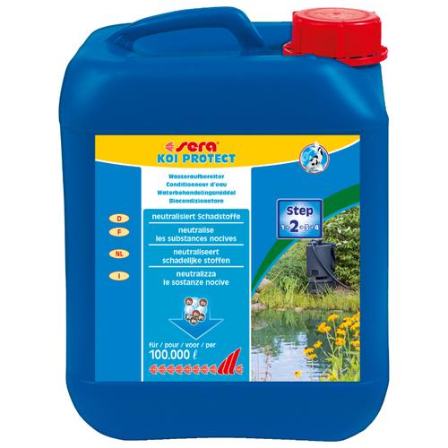 Жидкость для водоема Sera KOI PROTECT 5 л