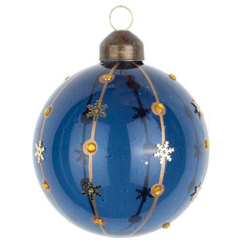 Набор шаров KARLSBACH 08893, темно-синий/золотой