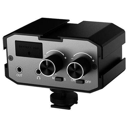 Микшер двуканальный CoMica CVM-AX1 3.5mm