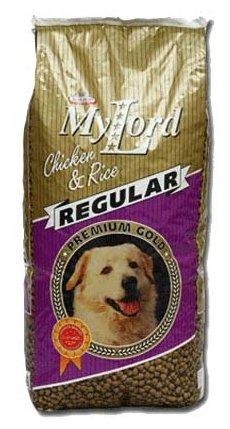 Корм для собак Dr. Alder`s МОЙ ЛОРД ПРЕМИУМ ГОЛД РЕГУЛЯР птица + рис крокеты Для взрослых собак (15 кг) 1 шт.
