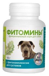 Витамины и добавки Фитомины для собак для Суставов, 50гр, 50 гр
