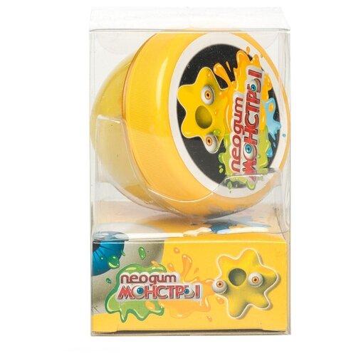 Купить Жвачка для рук NeoGum Монстр желтый, Игрушки-антистресс