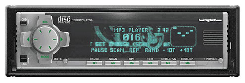 Автомагнитола Урал RCD/MP3 - 17SA