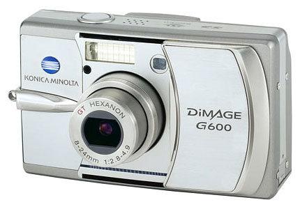 Фотоаппарат Konica Minolta DiMAGE G600