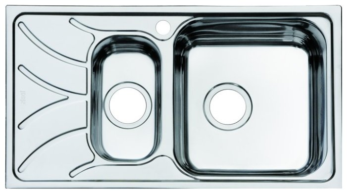 Врезная кухонная мойка IDDIS Arro ARR78SZi77
