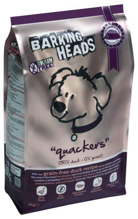 Корм для собак Barking Heads Беззерновой корм для собак с уткой и бататом Восхитительная утка