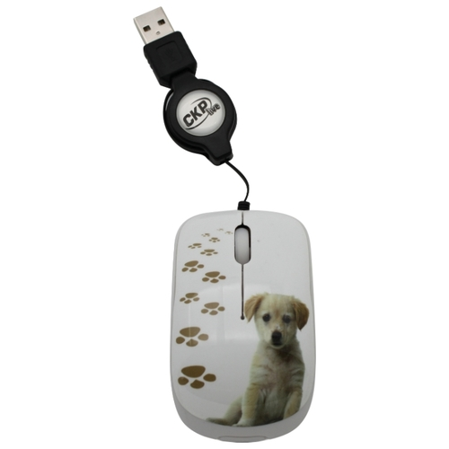 Мышь Cirkuit Planet CPL-MM1206 White USB