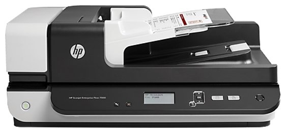 Сканер Hp scanjet enterprise flow 7500 планшетный, а4, adf 100 листов, 50 стр/мин, 600dpi,