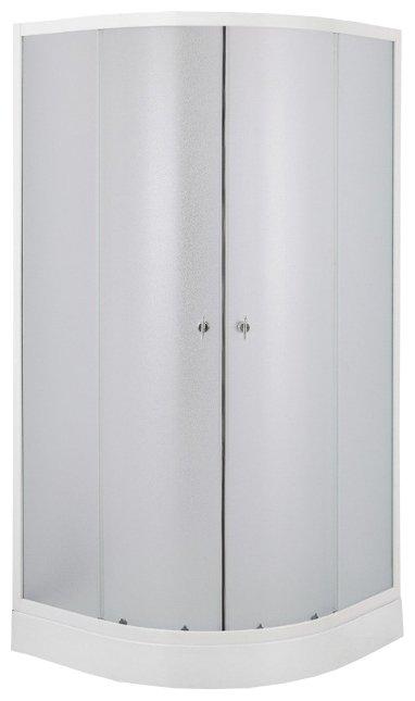 Душевой уголок Erlit (Эрлит) ER10112H-C1, прямоугольный, стеклянный, прозрачное стекло, для дома и дачи