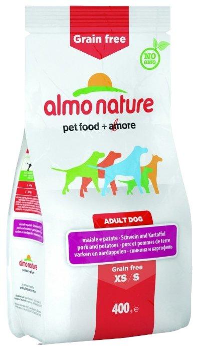 Корм для собак Almo Nature Holistic для здоровья костей и суставов, свинина с картофелем 400г (для мелких пород)
