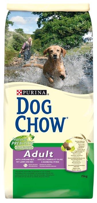 Корм для собак DOG CHOW Adult с ягненком для взрослых собак