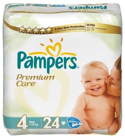 Pampers Premium Care 4 (7-18 кг)