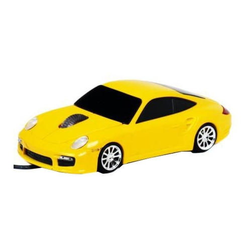 Мышь 3Cott Kart Mice IV Yellow USB