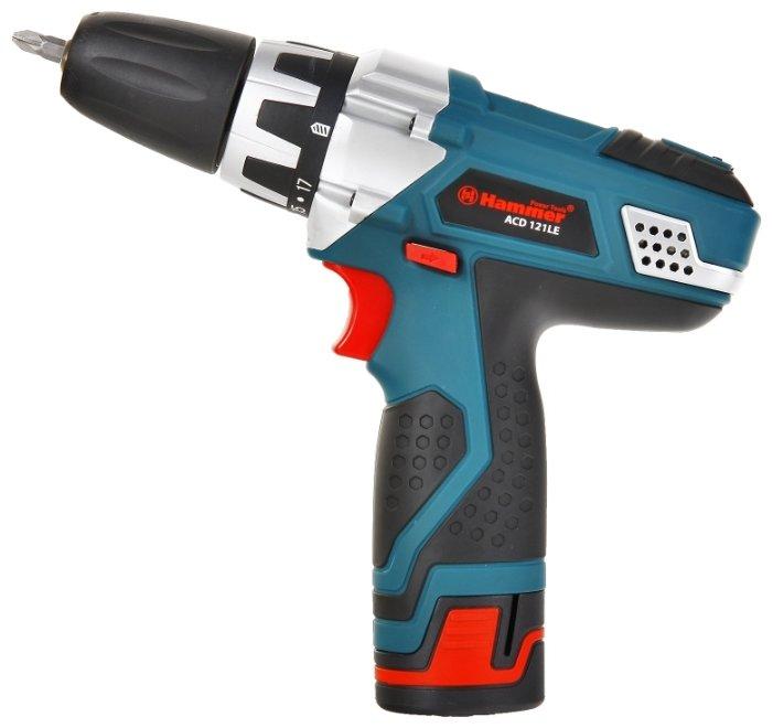 Дрель-шуруповерт Hammer ACD121LE PREMIUM