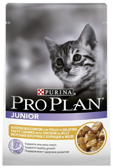 Purina Pro Plan (0.085 кг) 1 шт. Junior kitten with Chicken in Jelly