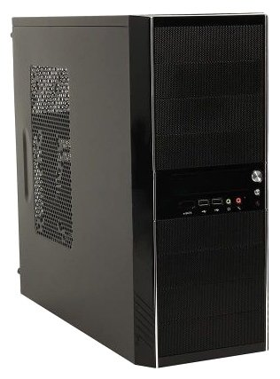 Компьютерный корпус CASECOM Technology KM-5288 w/o PSU Black/red
