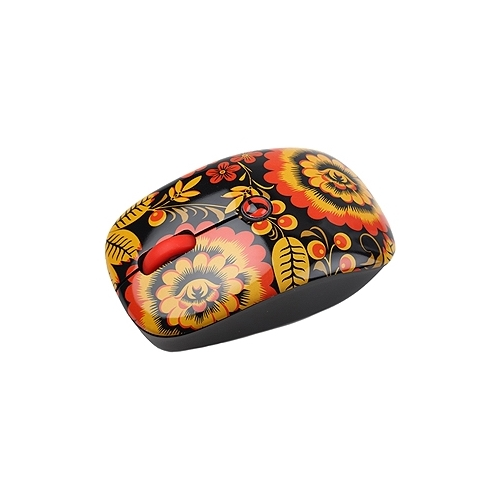 Мышь Intro MW205 mouse Hohloma Red-Black USB