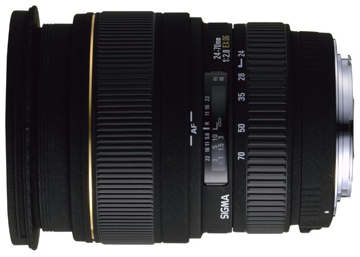 Sigma AF 24-70mm f/2.8 EX DG MACRO Nikon F