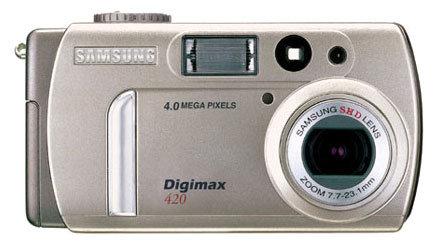 Фотоаппарат Samsung Digimax 420