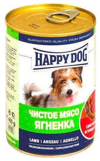 Корм для собак Happy Dog ягненок 400г