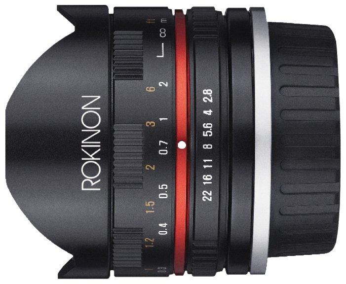 Объектив Rokinon 8mm f/2.8 UMC Fisheye II Samsung NX (RK8MBK28-NX)
