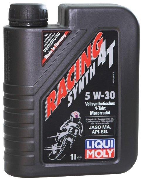 Моторное масло LIQUI MOLY Racing Synth 4T 5w-30 1 л