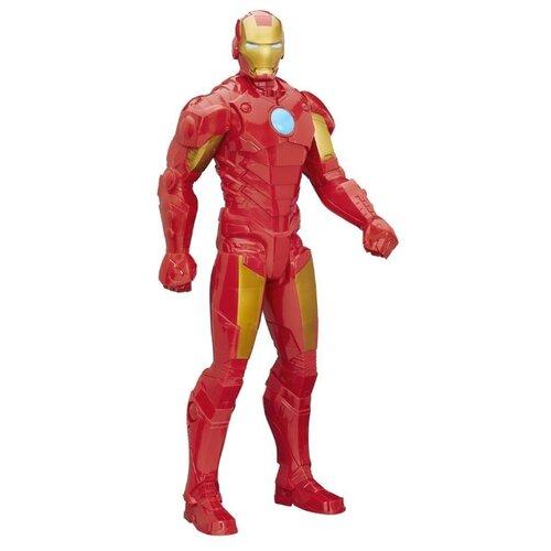 Фото - Фигурка Hasbro Avengers Титаны XL Железный человек B1655 фигурка железный человек режим сражения hasbro e0560