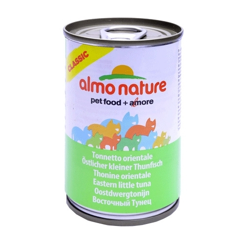 Almo Nature Classic Adult Cat Eastern Little Tuna (0.14 кг) 1 шт. Корма для кошек