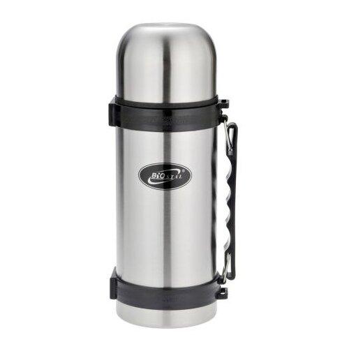 Классический термос Biostal NY-1500-2 (1,5 л) серебристый