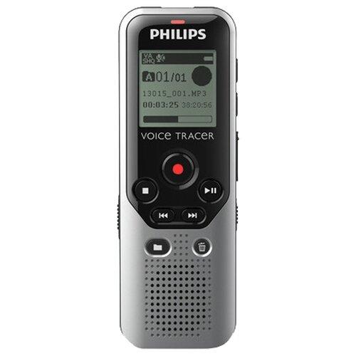 Диктофон Philips DVT1200 серый/черный