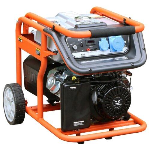 Бензиновый генератор ZONGSHEN KB 6000 E (5000 Вт) бензиновый генератор kronwerk kb 5000 4500 вт