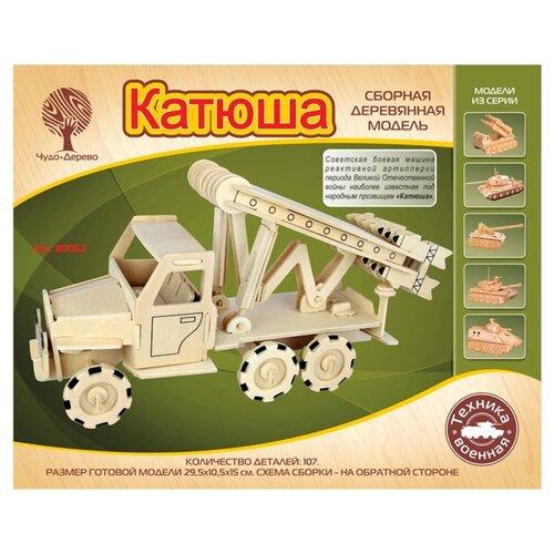 Сборная модель Чудо-Дерево Катюша (80052)Сборные модели<br>