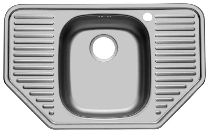 Врезная кухонная мойка UKINOX Comfort COL 777.488-GT8K 77.7х48.8см нержавеющая сталь