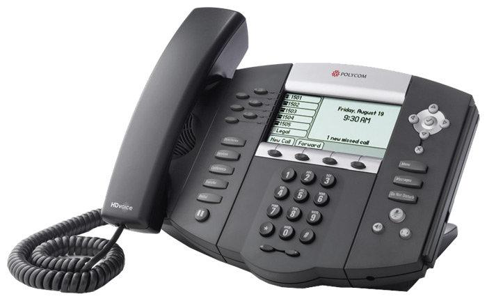 VoIP-телефон Polycom SoundPoint IP 650