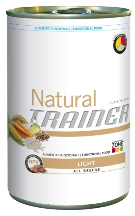 Корм для собак TRAINER Natural Adult Light All size canned