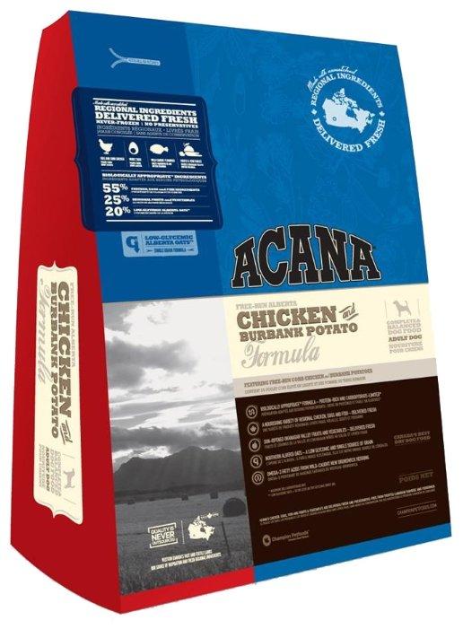 Корм для собак Acana Chicken & Burbank Potato