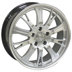 Колесные диски Racing Wheels H-380 7x17/5x112 D73.1 ET40 Silver