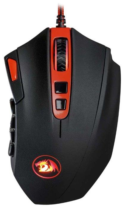 Мышь Redragon Firestorm Black-Red USB