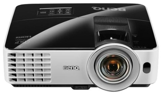 Проектор Benq mx631st dlp; xga; short-throw; brightness : 3200 al; high contrast ratio 13,000:1; smarteco; 10000 hrs lamp life; 10w speaker; 3d via hd