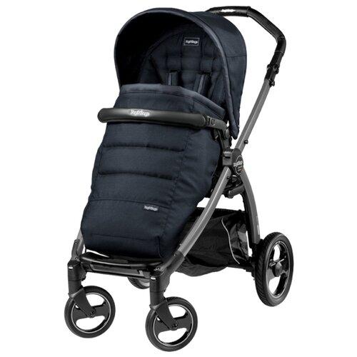 Купить Прогулочная коляска Peg-Perego Book S Pop-Up Completo luxe bluenight/black черный, Коляски